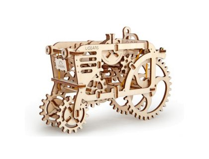 Конструктор 3D-пазл Трактор Ugears